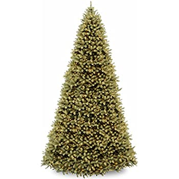 national tree 12 foot feel real downswept douglas tree with 1500 clear lights - 12 Christmas Tree