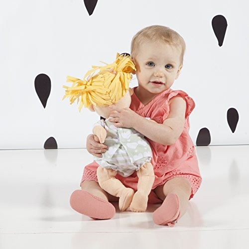 51Yro%2B8vNgL - Manhattan Toy Baby Stella Blonde Soft First Baby Doll for Ages 1 Year and Up, 15""