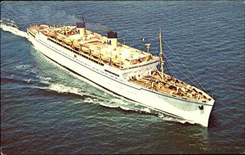 SS LURLINE - MATSON LINES LUXURY LINER Cruise Ships Original Vintage Postcard