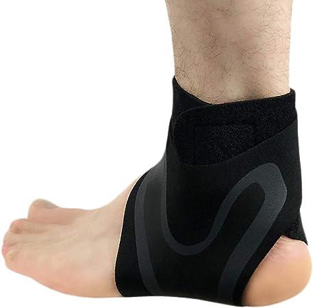 Chevill/ère Soutien Respirante Chevill/ère Professionnelle Compression Protection des Pieds Size L Modaka Ankle Support Pied Gauche