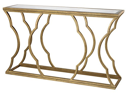 Gold Leaf Console - 5