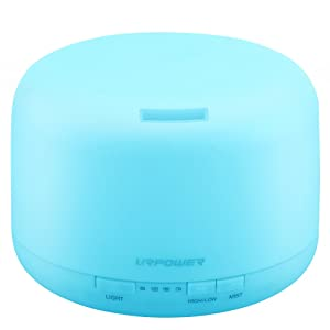URPOWER® 500 mL Essential Oil Diffuser – Humidifier width=