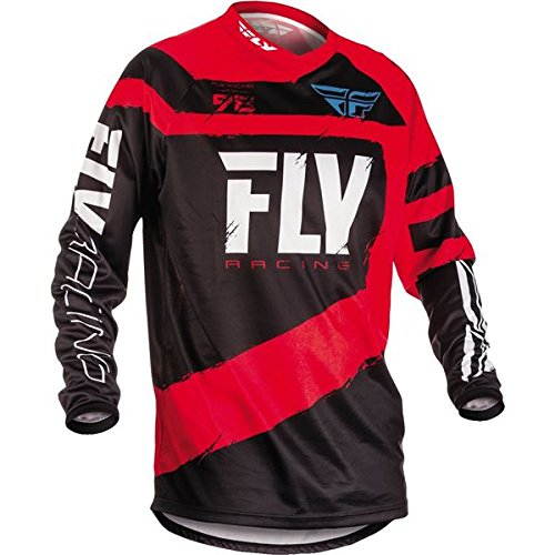 Fly Racing Men's Jersey (Red/Black, Youth Large)