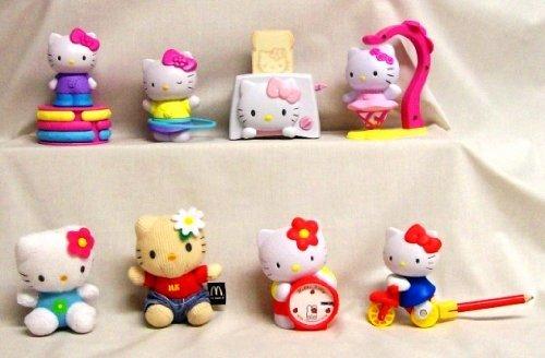 Hello Kitty Mcdonald S Toys : Amazon mcdonalds hello kitty happy meal set toys