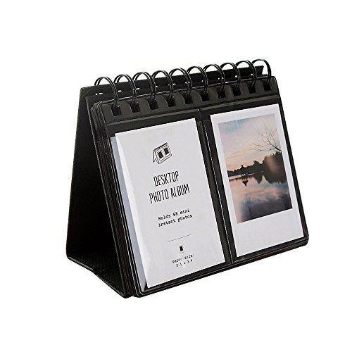 Jia Hu Mini 64bolsillos álbum de fotos de pie Libro de carcasa para computadora de marcos para Fujifilm Instax álbumes de...