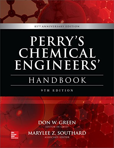 Pdf Engineering Perry's Chemical Engineers' Handbook, 9th Edition