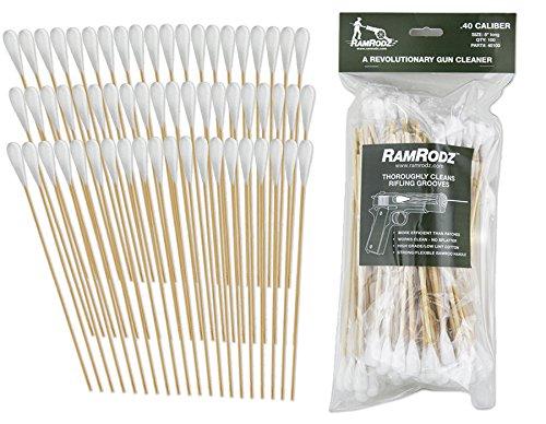 RamRodz 0.40/10mm Caliber Gun Cleaning Swabs (100 Quantity)