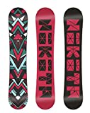 Nikita Women's Chickita Snowboard, 151, Raspberry/Multi