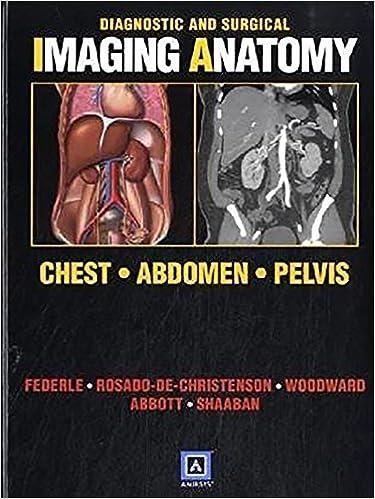 Diagnostic And Surgical Imaging Anatomy Chest Abdomen Pelvis