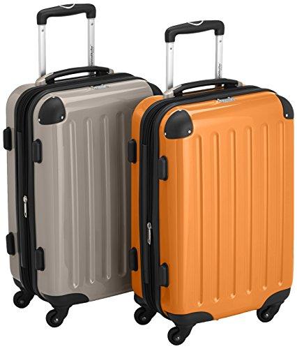 HAUPTSTADTKOFFER Set di valigie, 55 cm, 84 L, Multicolore