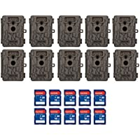 Moultrie A-5 5 MP Trail Game Camera, 10-Pack w/ SD Cards (Certified Refurbished)