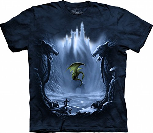 The Mountain Lost Valley Adult T-Shirt L Blue