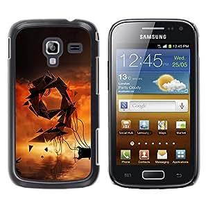 LECELL--Funda protectora / Cubierta / Piel For Samsung Galaxy Ace 2 -- Resumen 9 --