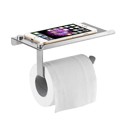 /Supporto da parete a forma di tessuto/ Porta carta igienica/ /bagno Tissue dispenser//&n /acciaio inox bagno rack/ /Rotolo di carta igienica portarotolo con ripiano mobile phone supporto/