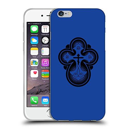 GoGoMobile Coque de Protection TPU Silicone Case pour // Q07870613 Christian Cross 12 Bleu // Apple iPhone 7