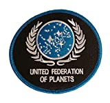 united federation planets - Star Trek The Next Generation United Federation of Planets UFP Emb Iron On Patch
