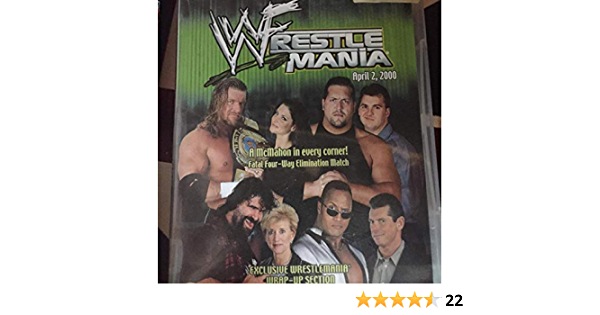 WWF - Wrestlemania 16 [Reino Unido] [VHS]: Amazon.es: Paul ...