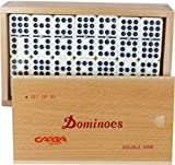 Board & Traditional Family Domino Game Double Nine Imperial Club Dominoes by OSG