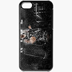 Personalized iPhone 5C Cell phone Case/Cover Skin 15 Kyrie Irving Rises 1920x1200 basketwallpapers.com Black