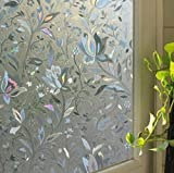 Tiean 45100cm Waterproof Frosted Privacy Bedroom Bathroom Window Glass Film Sticker (C)
