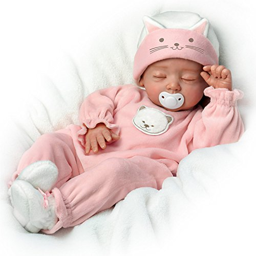 Katie, My Sweet Little Kitten So Truly Real Lifelike Baby Girl Doll by the Ashton-Drake Galleries