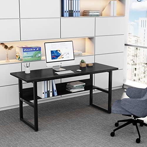 DEWEL 63 inch Computer Desk