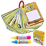 BBLIKE Water Colouring Doodle Board-Water Pens Drawing Toy Magic Water Drawing Card ! Reusable Water-Reveal On The Go (P)