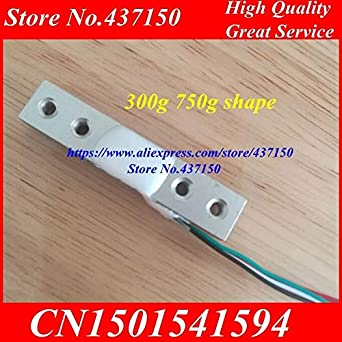 Fevas 2PCS/LOT, 100g 200g 300g 500g 750g Electronic Scale Aluminum Alloy Weighing Sensor Load Cell Weight Sensor: Amazon.com: Industrial & Scientific