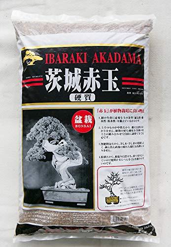 Japanese Hard Ibaraki Akadama for Bonsai/Succulent Soil - Small 14 L / 19 Lbs (Priority Mail Flat Rate Box Shipping Cost)