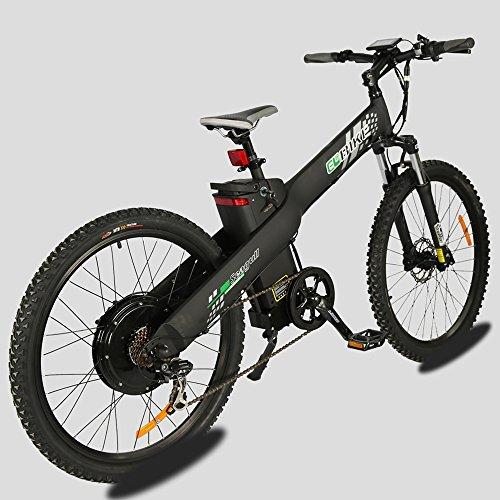 E Go Electric E Bike Hydraulic Brake 1000w 48v13ah Black