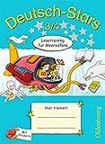 Deutsch-Stars - Allgemeine Ausgabe: 3./4. Schuljahr - Lesetraining für Meeresfans: Übungsheft. Mit Lösungen