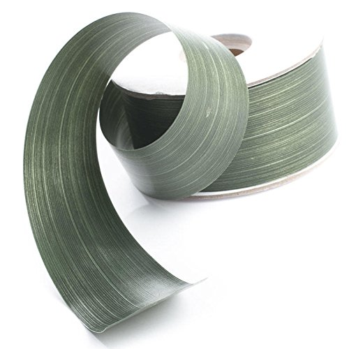 Factory Direct Craft Waterproof Green Aspidistra Leaf Ribbon | 50 Yards by Factory Direct Craft