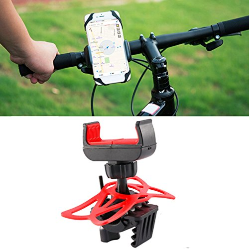 Floor 360° Rotatable Bike Phone Mount Bicycle Phone Holder, Cell Phone Bicycle Handlebar & Motorcycle Holder