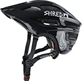 SHRED Mountain Bike MTB Helmet, BMX, Men and Women, Shortstack, MC Gazza Forever, XS/M- (53-57) For Sale