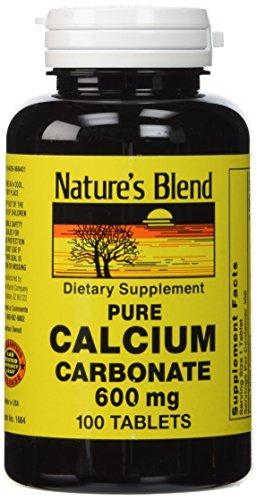 (Pure Calcium Carbonate 600 Milligrams 100 Tabs)