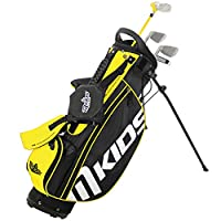 MKids Left Stand Bag Set - Yellow, 45-Inch