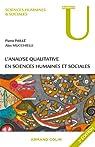 L'analyse qualitative en sciences humaines et sociales par Paillé