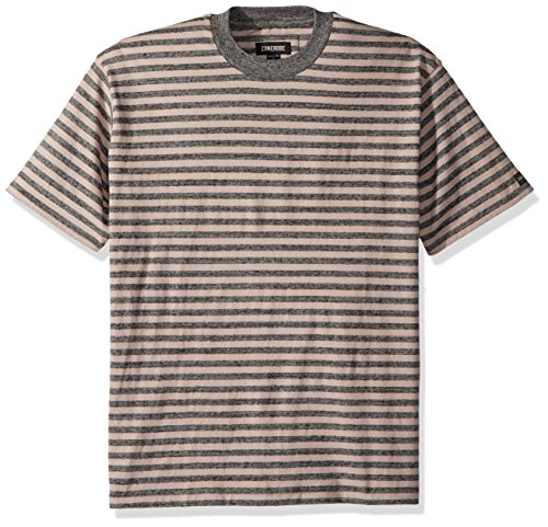 (Zanerobe Men's Deco Box Tee, Quartz/Charcoal Marle, Medium)