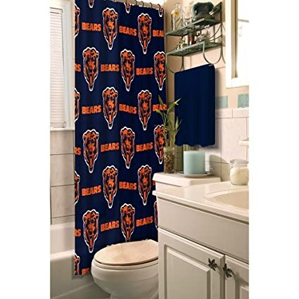 Amazon Northwest 903 NFL Chicago Bears Shower Curtain Home