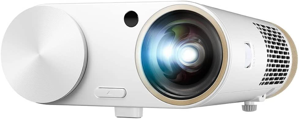 Benq I500 Multimedia Led Projektor Mit Wlan Kodi Ted Youtube Vimeo Und Mehr Bluetooth Lautsprecher 5 W X2 80 Schuss Kurz Hdmi Vga Av Tv Usb 1 5 A Netzteil Und Usb Benq Amazon De