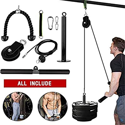 Fitfulvan 9PC Indoor and Outdoor Lifting Forearm Arm Strength Fitness Equipment - for Fitness,Training,Physical Therapy,Home Workouts: Sports & Outdoors