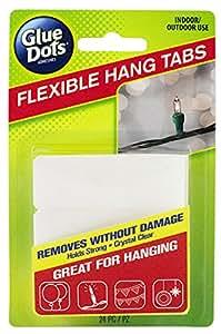 Glue Dots Flexible Hang Tabs
