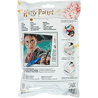 Perler 80-11138 Harry Potter Pattern and Fuse Bead Kit, x 11'', 3503pc, Multicolor: Toys & Games