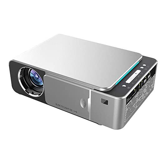 Lightleopard WZATCO T6 Proyector LED HDMI 1080p Proyector de Cine ...