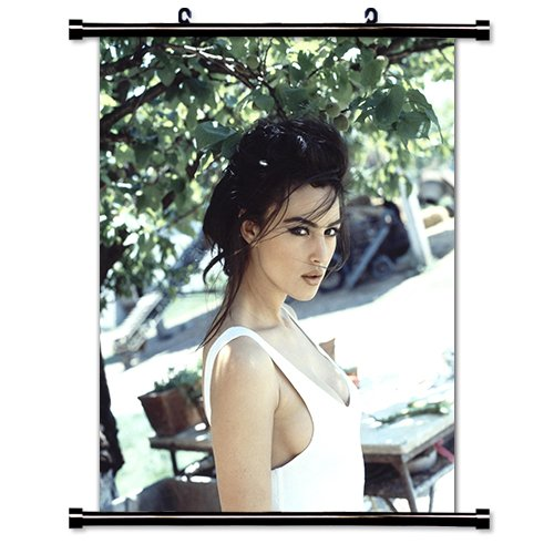 Monica Bellucci Sexy Actress Fabric Wall Scroll Poster