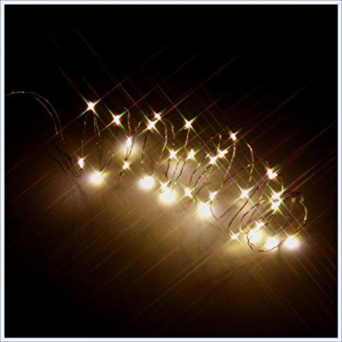 UNI -- Indoor-Flashing-White LED Lights -- 90 inch-- Holiday Decor (Cupid Men Costume)