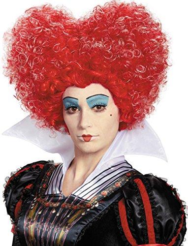 Queen Of Hearts Wig (Red Queen Deluxe Adult Wig)