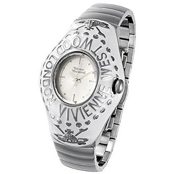 ヴィヴィアンウエストウッド レディース 腕時計 カレッジリング ウォッチ シルバー×ホワイト 新品正規品 【並行