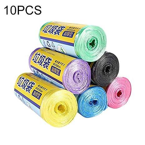 NSK Bolsa de Basura LLP 10 Rollos de Color for el hogar ...
