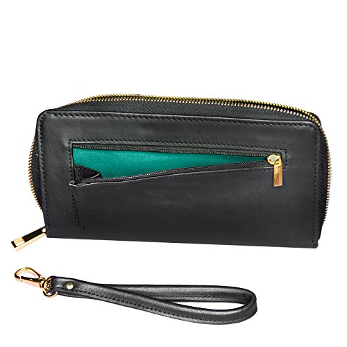 Wallet Clutch I Love Fish Fish Fishing with Removable Wristlet Strap Neonblond by NEONBLOND (Image #3)